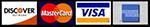 visa mastercard discover american express logos